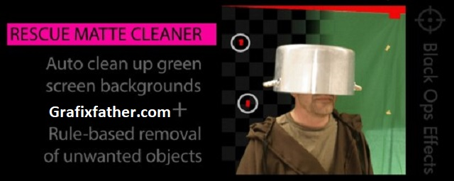 Rescue Matte Cleaner for After Effects