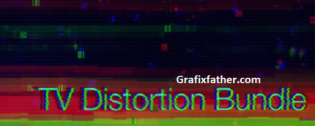 Rowbyte TV Distortion Bundle for After Effects