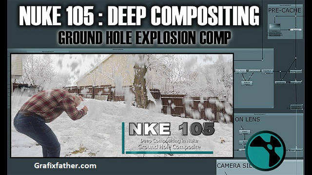 CGCircuit NUKE 105 Deep Compositing in Nuke Ground Hole Composite