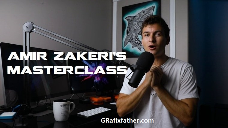 Amir Zakeri After Effects Premiere Pro Creative Masterclass