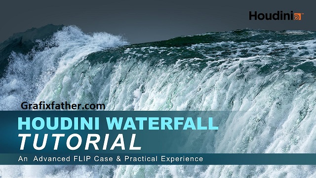 Gumroad Houdini Waterfall Tutorial By VFX Grace