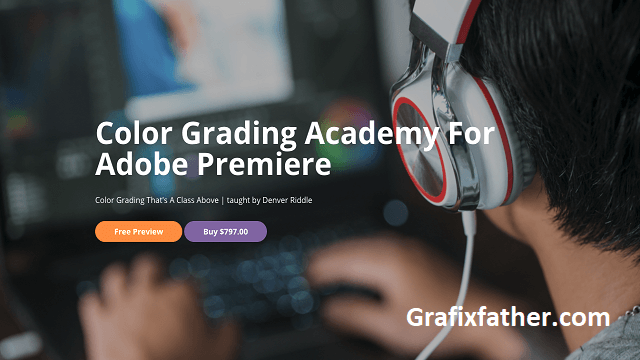 color grading academy for adobe premiere