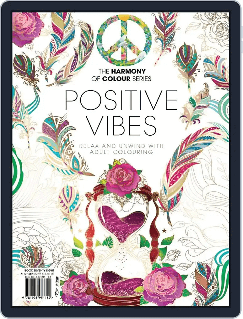 Coloring Book Positive Vibes 2021