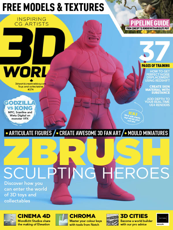 3D World UK - Issue 247 July 2021