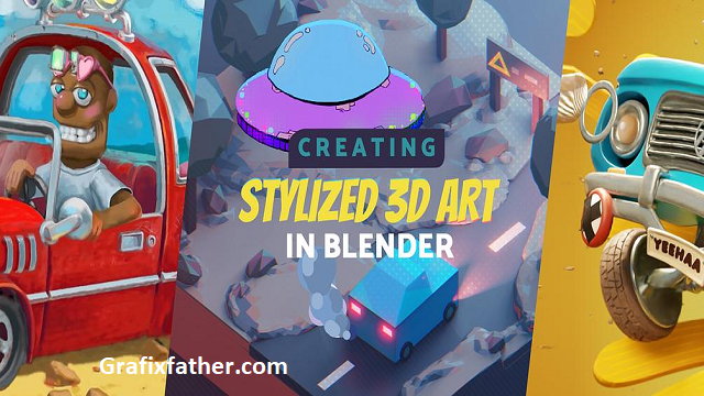Create Stylized 3D Art in Blender By Creative Shrimp
