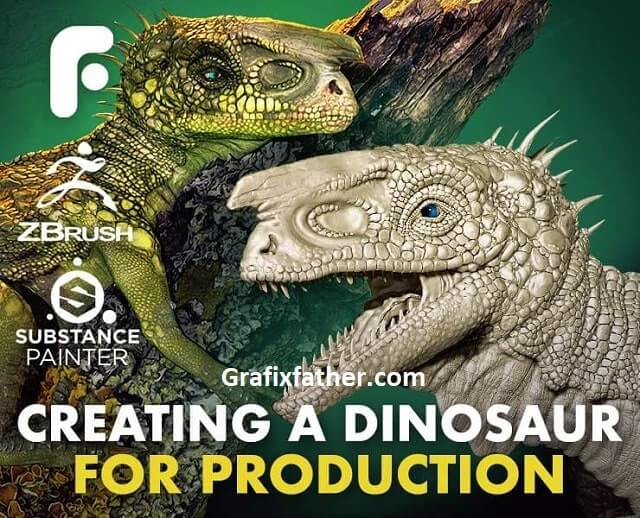 Modeling and Texturing a Dinosaur for Production Complete Edition