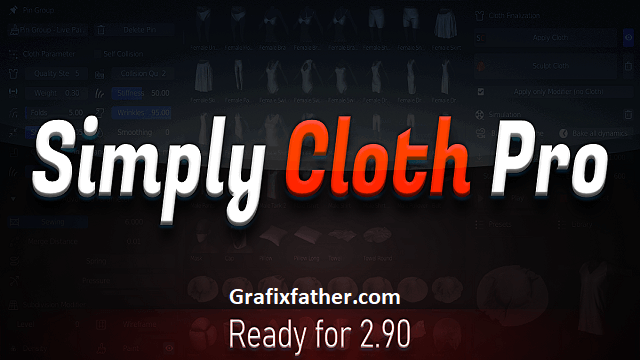 Simply Cloth Pro For Blender