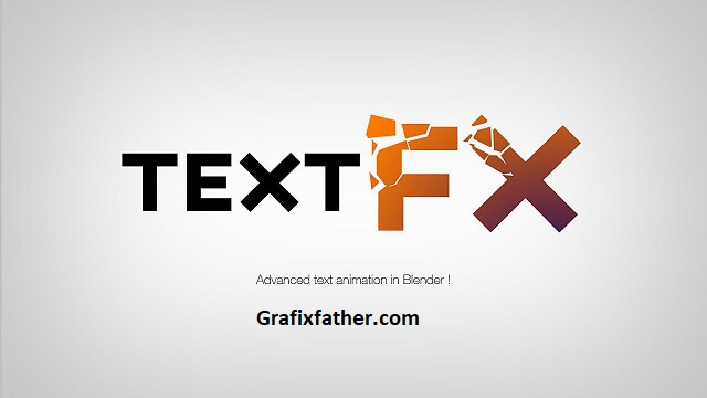 Text Effects Blender Add-On