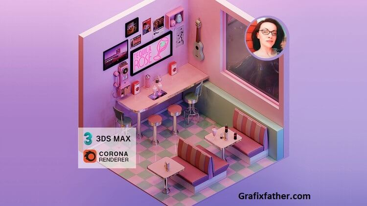 Udemy Render an Isometric Retro Diner