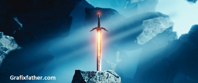 CGFastrack Blender Fast Track Vol 2 Sword in the Stone