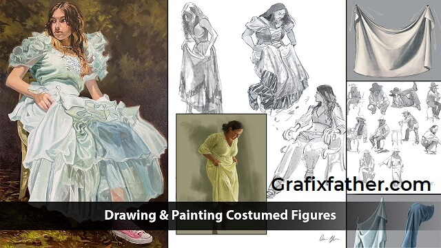 Drawing and Painting Costumed Figures