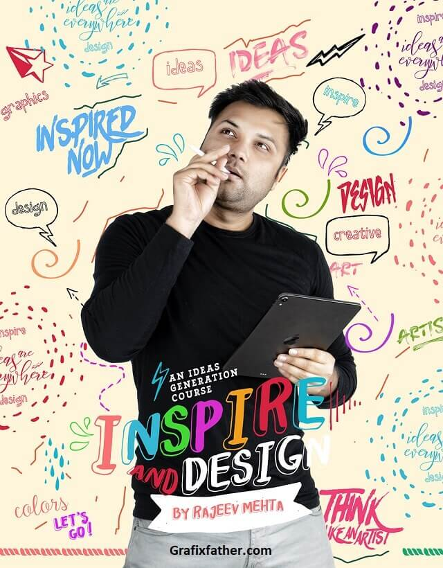 Inspire and Design A Graphic Designing Ideas Generation Course