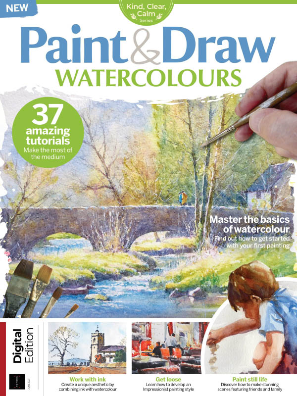 Paint And Draw Watercolours Issue 2 2021Pdf Free Download