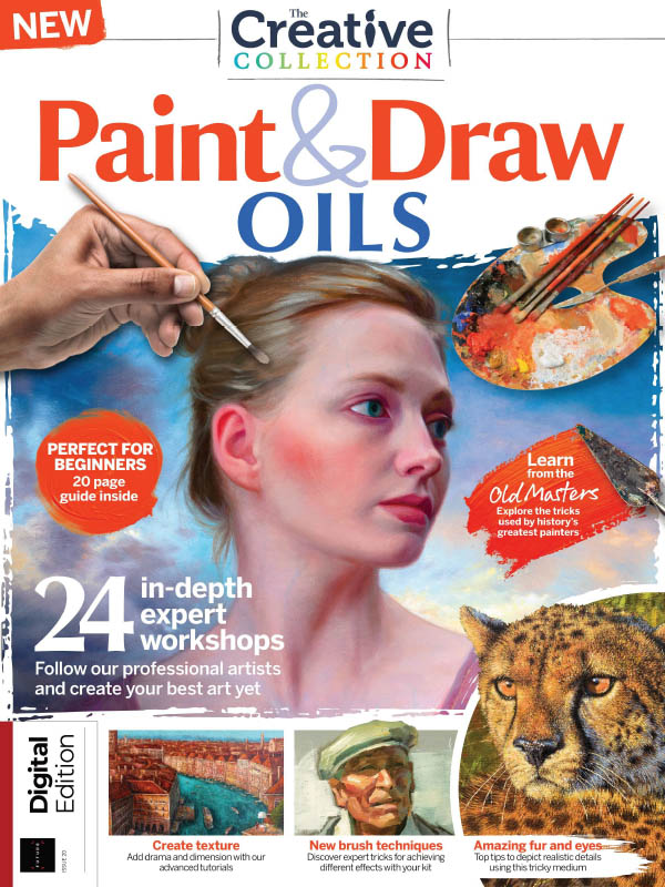 The Creative Collection Paint Draw Oils 2021