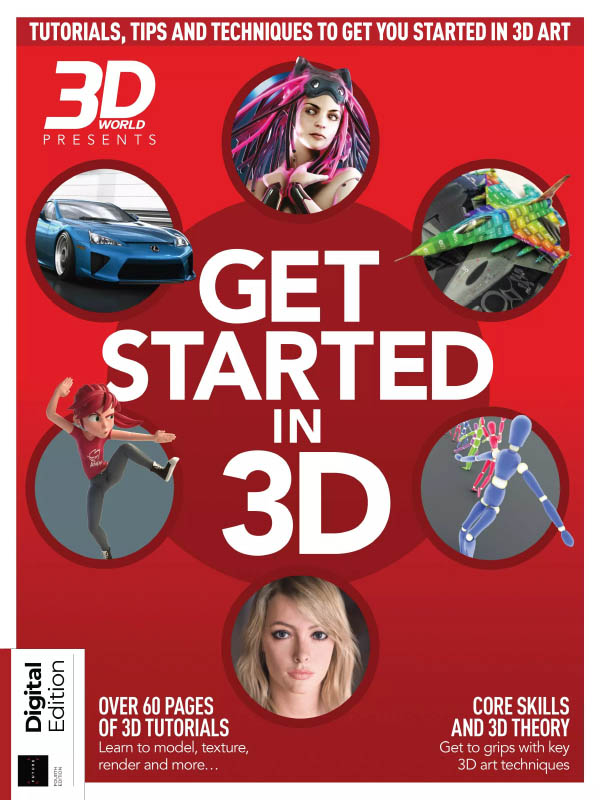 3D World Get Started in 3D 4th Edition 2021